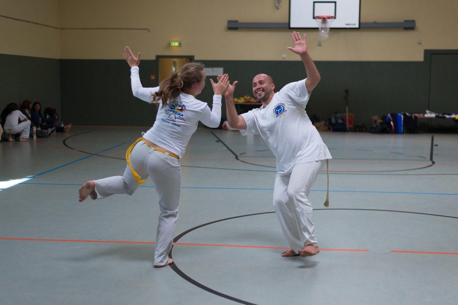 Capoeira Azania - Cordao de ouro - o Calado é Vencedor II - Berlin - 1009 - S