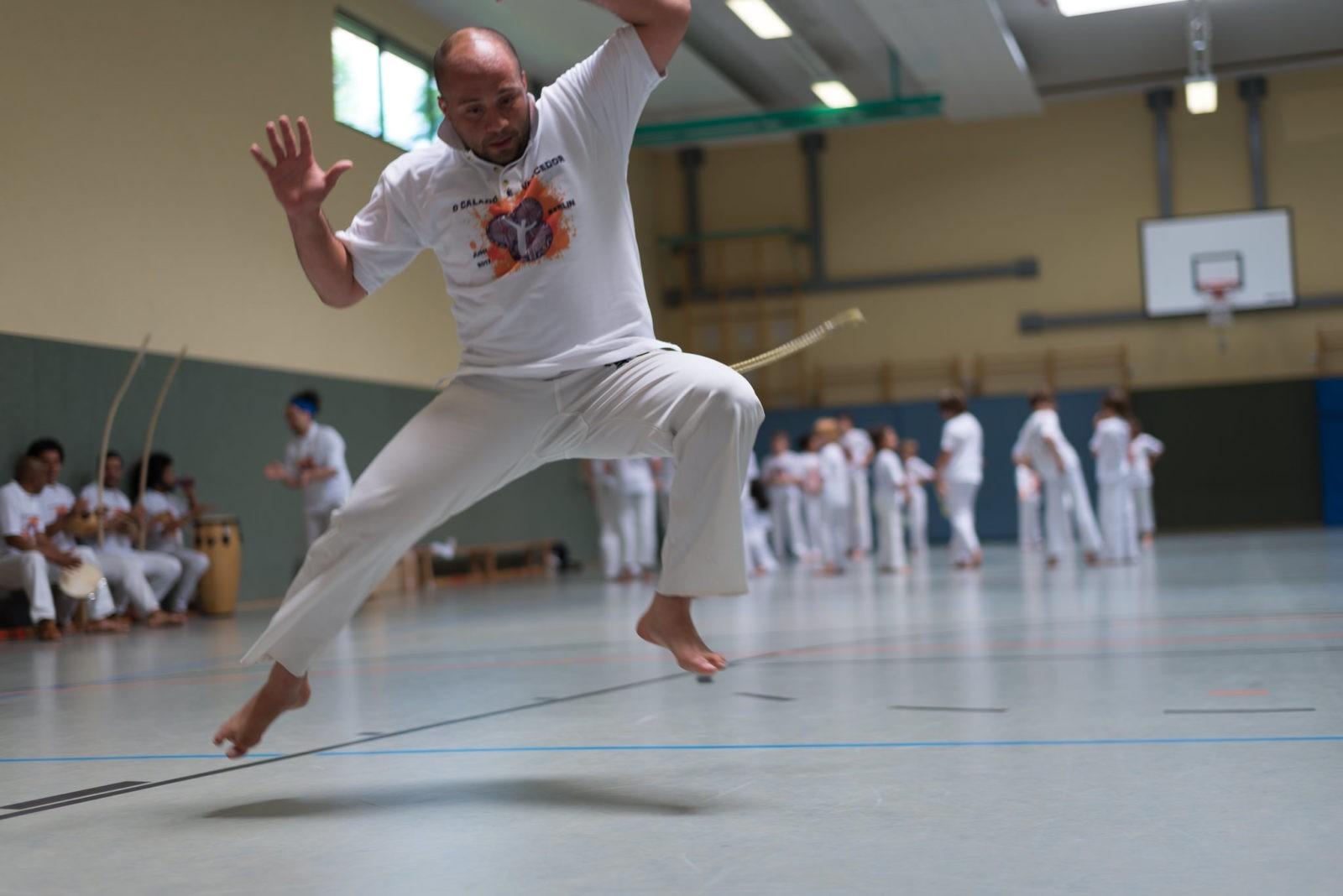 Capoeira Azania - Cordao de ouro - o Calado é Vencedor II - Berlin - 1195 - S